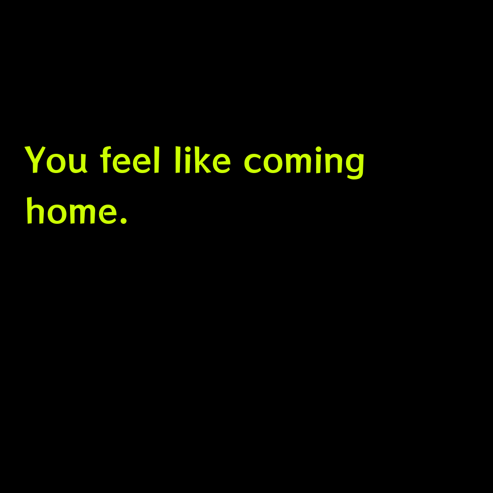 You feel like coming home. - Funny Hoco Homecoming Captions for Instagram