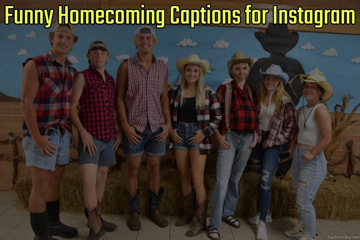 22+ Funny Hoco Homecoming Captions for Instagram