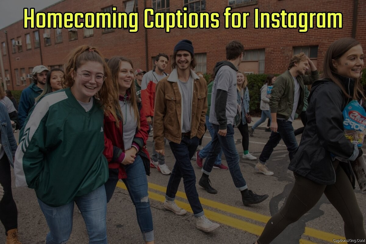 42+ Best Hoco Homecoming Captions for Instagram